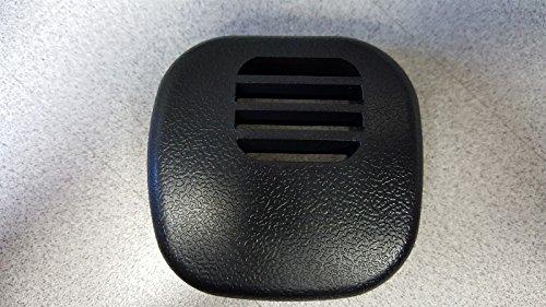 97-04 Corvette C5 Center Dash Temp Sensor Grille Vent Cover 10268306 Black NEW