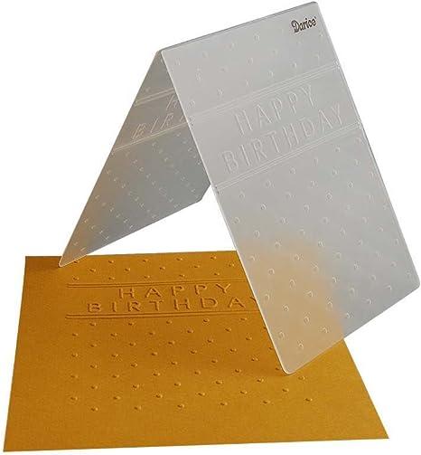 card making greeting cards scrapbooking Darice\u00ae Embossing Folder Multi Lines- Discontinued 4.5 x 5.75 invitations 30008398