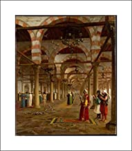 Jean-Leon Gerome - 16x18 Art Print by Museum Prints - Prayer in The Mosque
