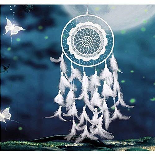 LaoZan Indian style Grand Attrapeur de r/êves Turquoise d/écoration murale Ornement