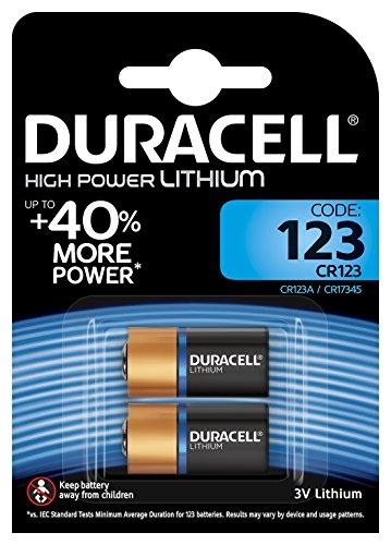 Duracell 75064853, Pila Speciale per Apparecchi Fotografici, 123 B2 Ultra (2 Pezzi)