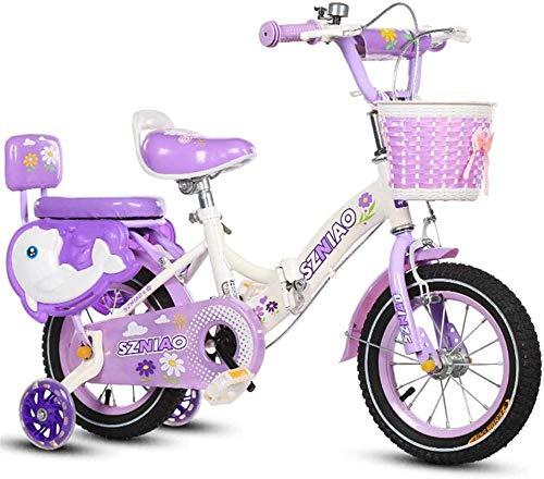 XXCZB Bicicleta Plegable de Bicicleta con 2 Ruedas