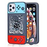 Jowhep Case for iPhone 12 Mini Soft Silicone Cartoon Design Cute Cover Fashion Funny Kawaii Shell for iPhone 12 Mini 5.4' Shockproof Cool Fun Unique Cases for Girls Kids Women Boys Quicksand Switch