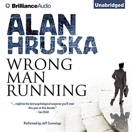 Wrong Man Running audiobook cover art