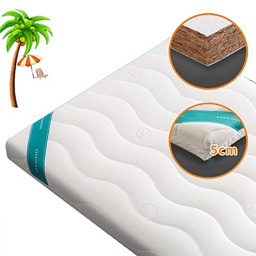 New HBIAO Crib Mattress, Children's Mattress Natural Coconut Palm Mattress Newborn Home Kindergarten...