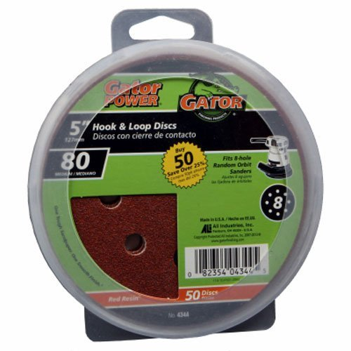 Pack New Orleans Mall of 3 ALI INDUSTRIES 4344 8 Grit Hole Hook quality assurance Loop Disc and 80