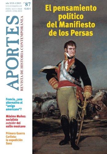 Aportes. Revista de Historia Contemporánea Nº 87, año XXX (1/2015): Nº 87, año XXX (1/2015)