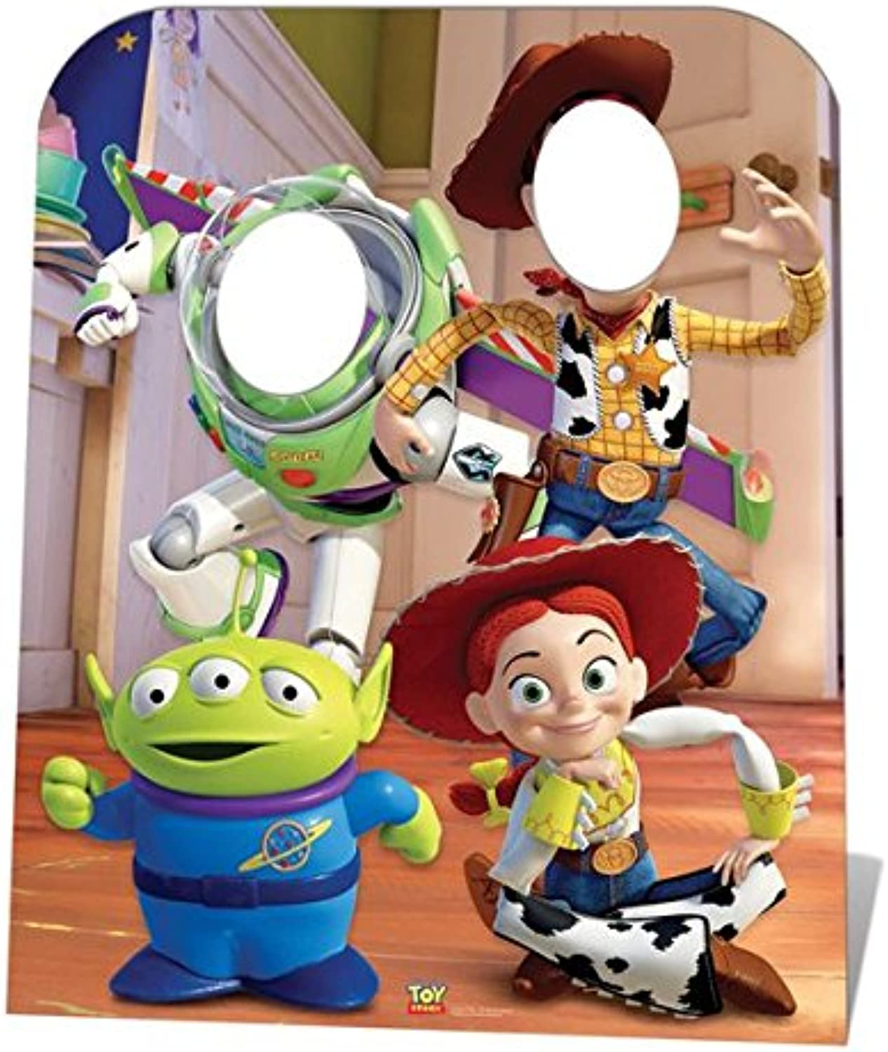 IdealWigsNet Toy Story Stand-In - 1m