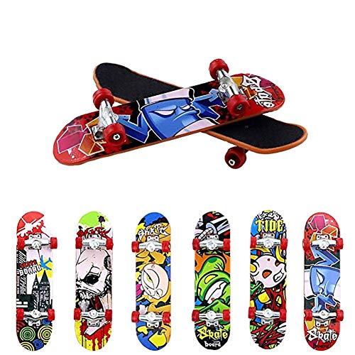 Finger Skateboard Professionelle Mini Fingerboards Skatepark Spielzeug Für Kinder Spielen Oder ALS Finger Skateboard Dekoration, Baby Kinder Mini Spielzeug Fingerboard Tech Deck Jungen Kinder