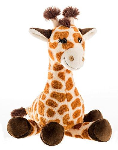 Schaffer 5562 Plüsch-Giraffe Bahati, Braun, M - 28 cm