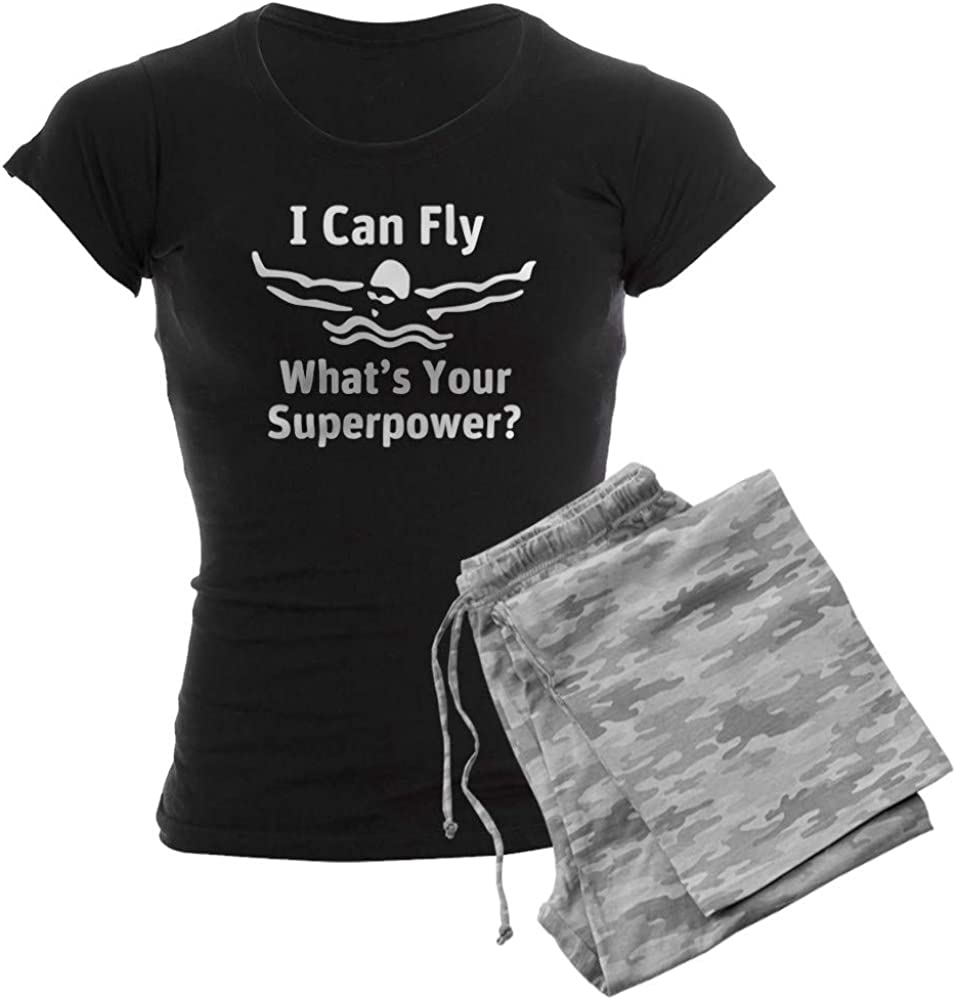 CafePress I Can 価格 交渉 送料無料 Fly What's PJs Your Women's 人気ブランド多数対象 Superpower