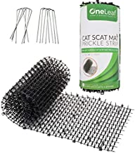 Homarden Cat Repellent Outdoor Scat Mat (6.5 ft) - Deterrent Scat Mats for Cats and Dogs - Indoor/Outdoor Deterrent Devices - Includes 8 Garden Staples