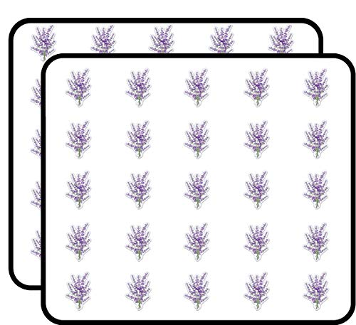Lavender Bunch Sticker for Scrapbooking, Calendars, Arts, Kids DIY Crafts, Album, Bullet Journals 50 Pack