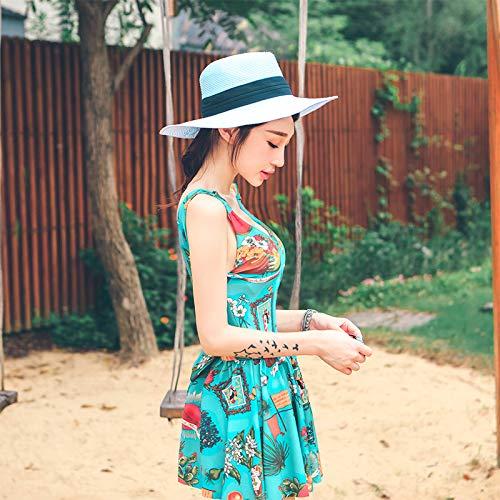 WAZR Slim, Conservatore, Sexy, Piccoli Seni E Costumi da Bagno Hot Spring, L, Lake Green