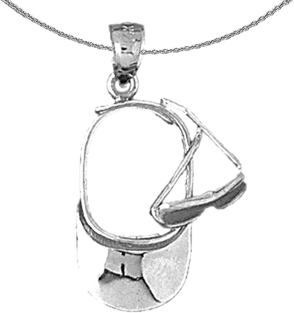 Jewels Indefinitely Obsession Silver Visor And Sunglasses High order Rhodium- Necklace