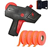 Monarch 1110 Pricing Gun with Labels Starter Kit: Includes Price Gun, 8,500 Fluorescent Red Pricing Labels and Preloaded Inker