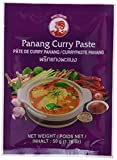 Cock Currypaste Panang, mittlere Schärfe, authentisch thailändisch Kochen, natürliche Zutaten, vegan, halal und glutenfrei (6 x 50 g Packung)