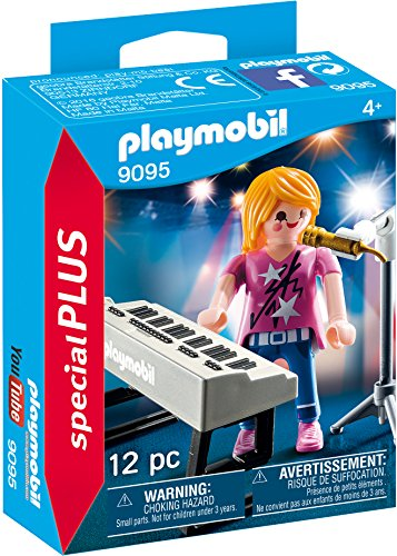 PLAYMOBIL Especiales Plus- Cantante con Órgano, Multicolor,