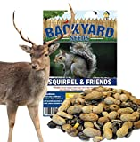 Backyard Seeds Squirrel, Deer Feed & Wildlife Mix 20 Pounds