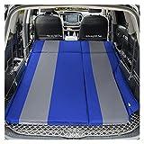 GZA AutoInflation Coche Colchón SUV Viajar Colchón Inflable para Sleep Sofá Exterior Cama Cama Cama Camping Accesorios para Air Air Matt (Color : Blue)