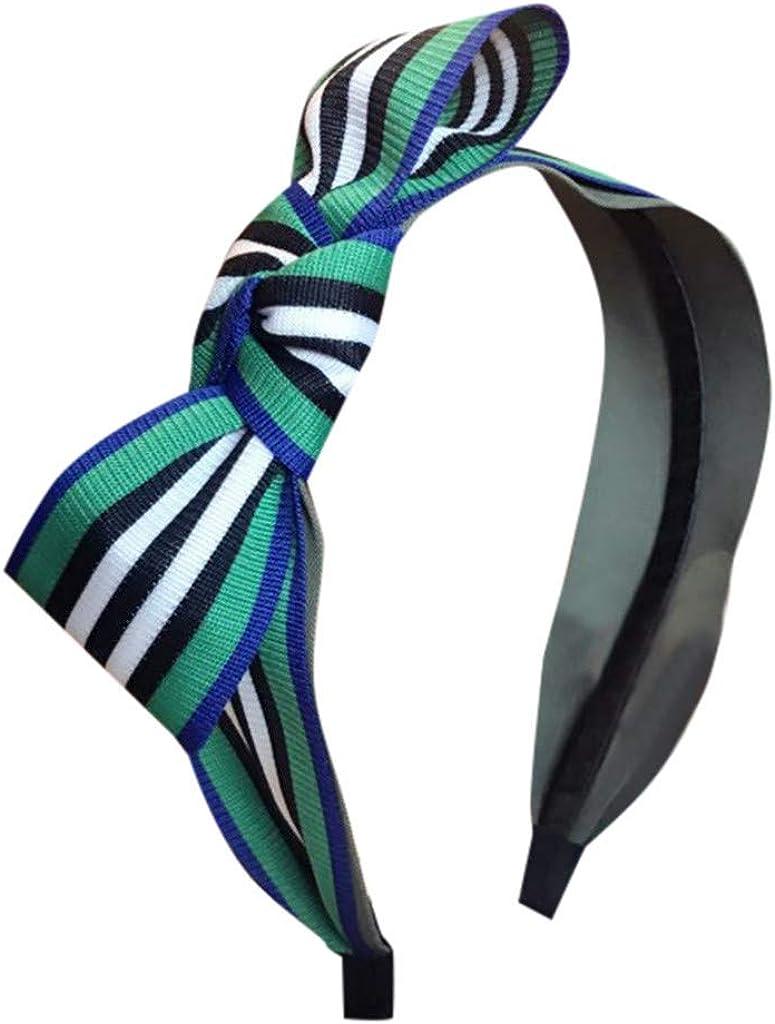 Hairband Clearance QUNANEN Women's Crystal Headband Fabric Hairband Head Wrap Hair Band Accessories Headwear