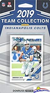 Indianapolis Colts 2019 Donruss NFL Football Limited Edition 11 Card Complete Factory Sealed Team Set with Andrew Luck, T.Y. Hilton, Peyton Manning & Many More Stars & Rookies! WOWZZER
