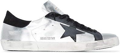 Golden Goose Luxury Fashion Uomo GMF00101F00031260246 Argento Pelle Sneakers | Autunno-Inverno 20