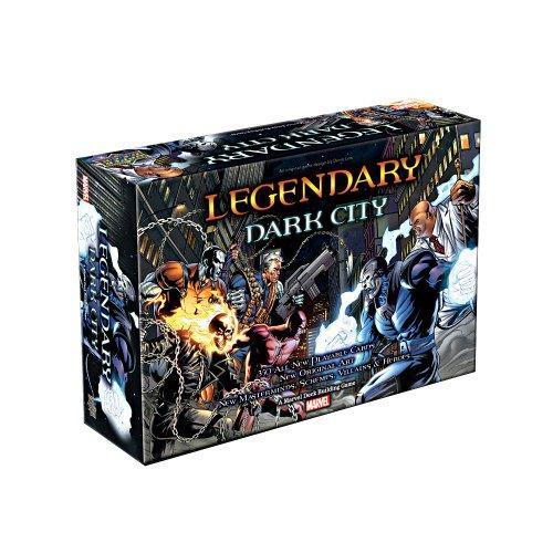 ADC Blackfire Entertainment UD80951 - Legendary: Dark City Erweiterung - Englisch, Kartenspiel