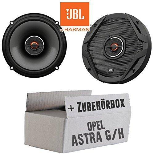 JBL GX602 | 2-Wege | 16cm Koax Lautsprecher - Einbauset für Opel Astra G,H - JUST Sound Best Choice for caraudio