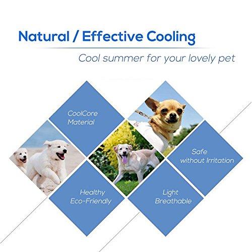 Branger Alfombrilla de Refrigeración, No Tóxicas Perros Gatos Mascotas Alfombrilla de refrigeración Manta de Refrigeración Transpirable Alfombra de Dormir Suave y Refrescante
