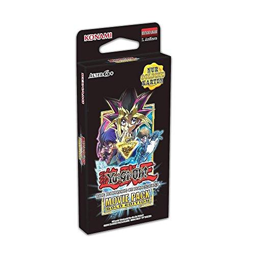 YU-GI-OH! YGO-542149-DE The Dark Side of Dimensions-Movie Pack Gold Edition-Deutsch