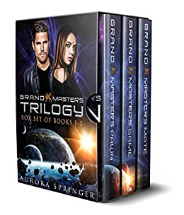 Grand Master's Trilogy: Epic SciFi Fantasy - Complete Set of 3 Volumes (Masters of the Galaxy Book 1) by [Aurora Springer]