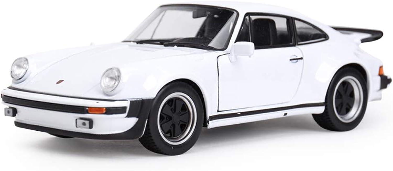 edición limitada JIANPING Modelo de Coche 1 24 Porsche Porsche Porsche 911 Trubo simulación de aleación de fundición de Juguetes Adornos de colección de Coches clásicos joyería 17x7.2x5CM Auto Modelo  marca en liquidación de venta