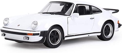 ZEQUAN voitures modèle moulé, Modèle de Voiture en Alliage 1 24 Jouet de Voiture Classique Accessoires de Voiture Porsche modèle Simulation Bureau décoration