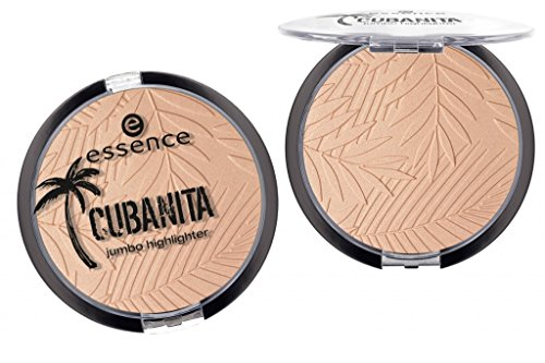 Essence CUBANITA jumbo highlighter Nr. 01 mi corazón Inhalt: 20g Goldender Highlighter mit metallischem Glanz.