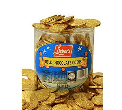 Lieber's Milk Chocolate Coins 1 Box of 325 Pcs.