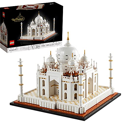 LEGO Architecture Taj Mahal (20156) Building Toy; Engaging Building Project for Adults; New 2021 (2022 Pieces)