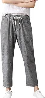 Womens Drawstring Pants Plus Size Sport Trousers Lady Workwear Pants