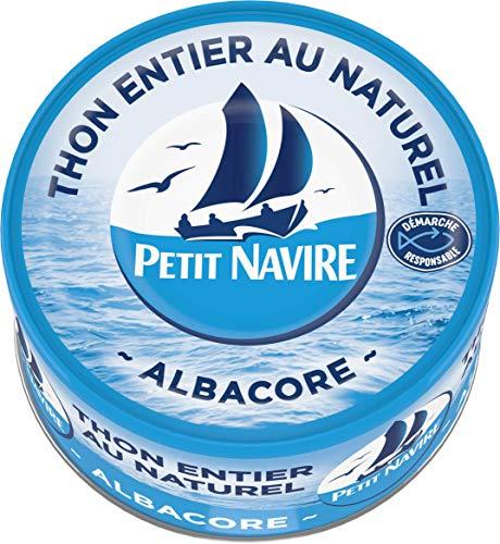 Petit Navire Thon Naturel 1/4 Démarche Responsable