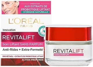 L'Oréal Paris - Revitalift - Soin Jour Liftant - Anti-Rides & Extra-Fermeté - Anti-Âge - Sans Parfum - 50 ml