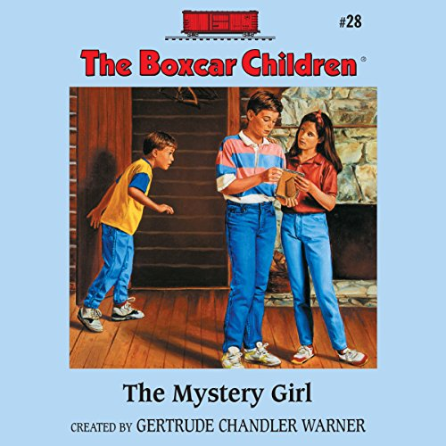 The Mystery Girl audiobook cover art