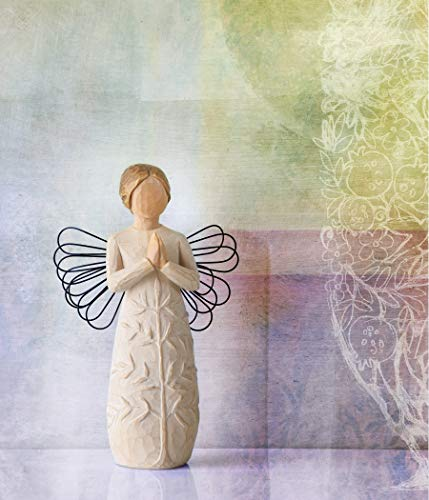 Willow Tree a Tree, a Prayer Angel, Sculpted Hand-Painted Figure
