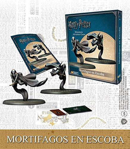 Knight Models Juego de Mesa - Miniaturas Resina Harry Potter Muñecos Mini Adventure-Death Eaters on Broom Spanish: Amazon.es: Juguetes y juegos