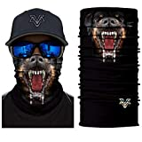 Vcoros Skull Bandana Face Mask For Riding Motorcycle Racing Hunting Skiing Snowboarding Fishing Winter Warm Neckerchief Men Women outdoor sport Scraf (PL180426)