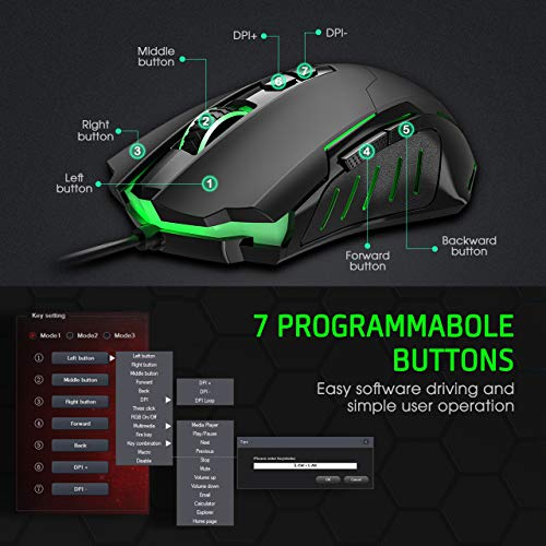 PICTEK Gaming Mouse