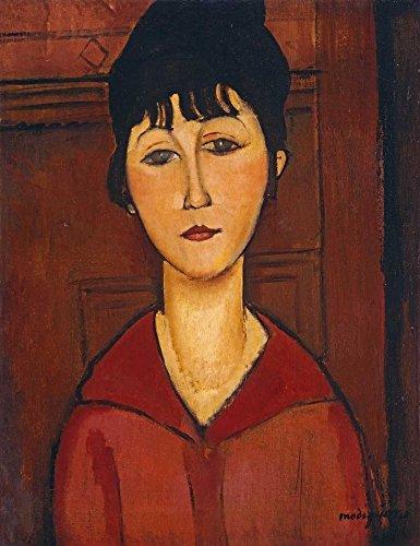 Feeling at home Lamina-sobre-Lienzo-ENROLLADA-Cm_56_X_43-Modigliani-Amedeo-mujeres-retratos-Figurativo-Canvas-enrollado-380gr-100% Lienzo
