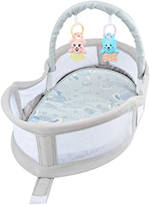 Amazon Com Trend Lab Moses Basket Set Pique Natural Baby
