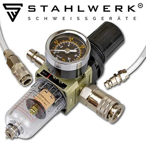 STAHLWERK CT550 ST – kompaktes WIG/MMA Schweißgerät mit Plasmaschneider bis 12mm, 200 Ampere WIG/MMA + 50 Ampere CUT, 7 Jahre Garantie, weiß - 7