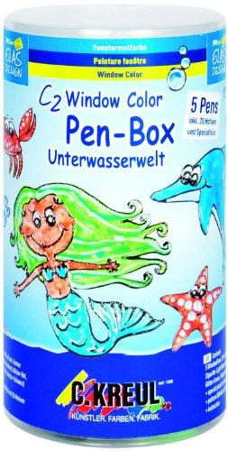 Hobby Line 41156 - C2 Window Color Pen Box Unterwasserwelt