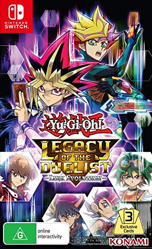 Yu Gi Oh! Switch UK Legacy of the Duelist Link Evolution